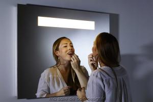 Miroir salle de bains à LED 70 x 90cm BP-294