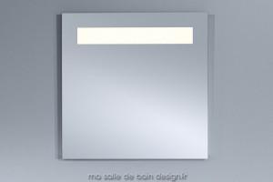 Miroir salle de bains carré à LED 70 cm BP-194