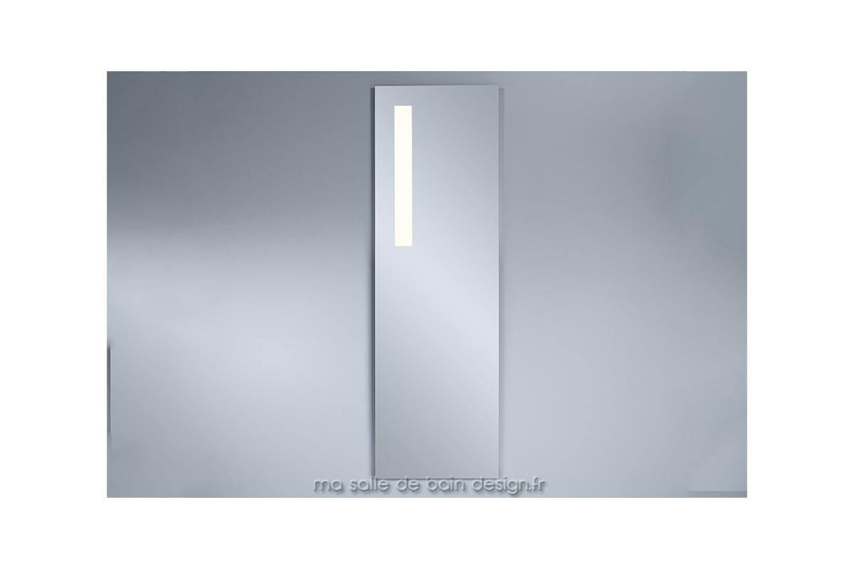 Miroir lumineux led vertical pour salle de bains haut de - Miroir salle de bain 150 ...