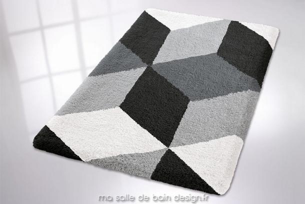 Tapis de bain rectangulaire disponible en plusieurs dimensions - Motifs Géométriques - Brighton
