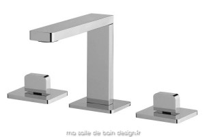 Mélangeur lavabo 3 trous chromé iTap