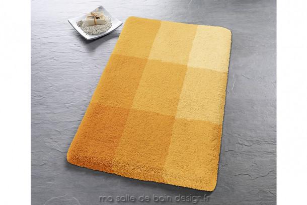 Tapis de bain design Square - Bords arrondis et couleurs gaies