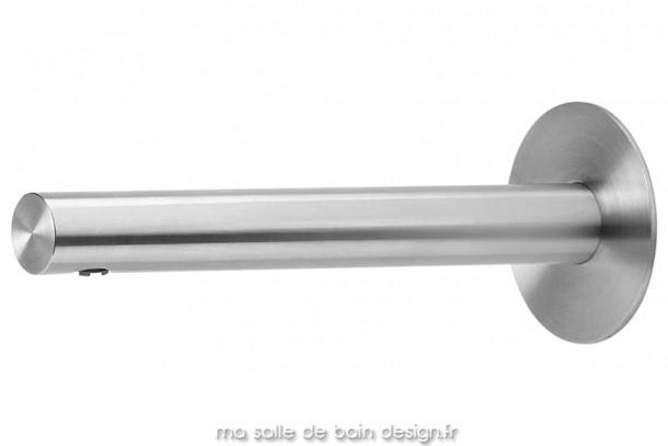 Bec de bain design en inox mat Lapa par Water Evolution