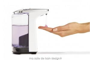 Distributeur à savon automatique compact - blanc