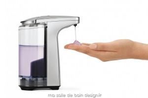 Distributeur à savon automatique - nickel brossé