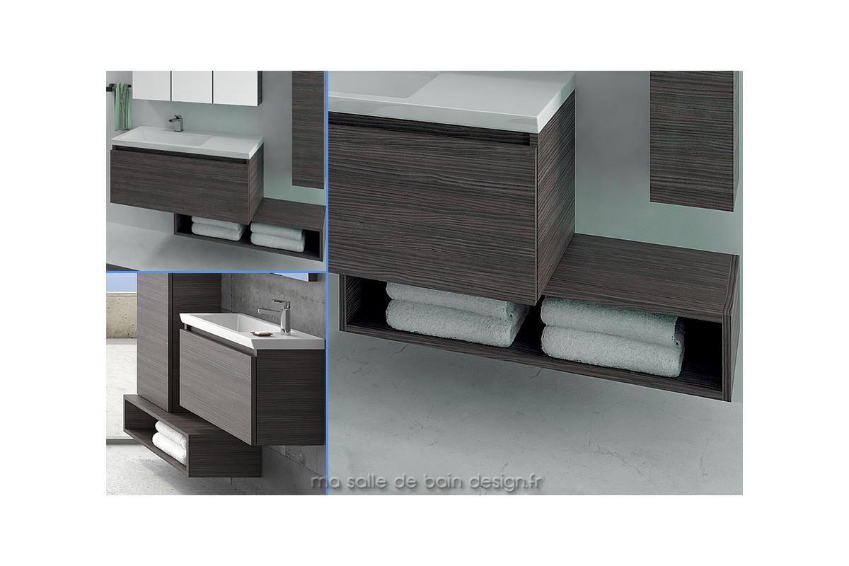etagre salle de bains en colonne horizontale ou cm linea with etagere sdb with etagere. Black Bedroom Furniture Sets. Home Design Ideas