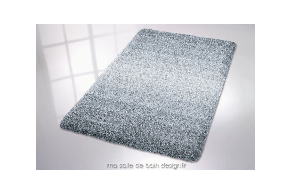 tapis de bains moderne en d grad de gris oslo de kleine wolke. Black Bedroom Furniture Sets. Home Design Ideas