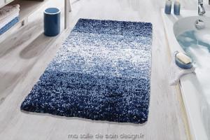 Tapis de bain - Oslo Bleu