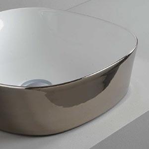 Vasque Design Ghost couleur platine