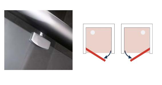 detail porte pivotante espace