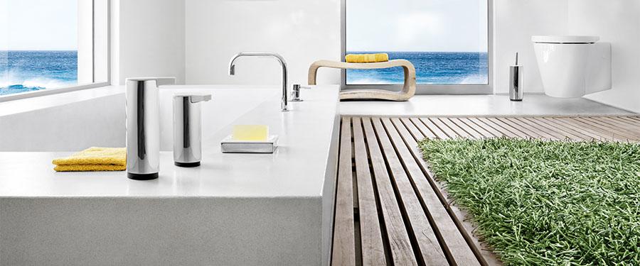 Miroir lumineux led vertical pour salle de bains haut de - Miroir d angle pour salle de bain ...