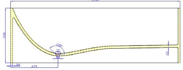 schéma dimensionnel PBMW008