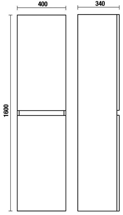 schéma colonne nice 2 portes 1600