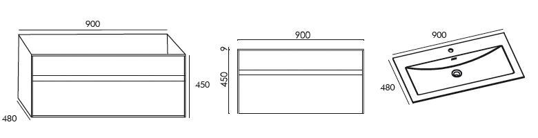 schema meuble astree 900 ottofond