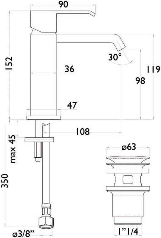 schema robinet domino