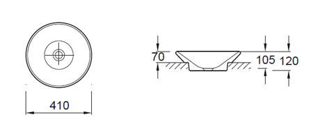 schema vasque a poser manosque