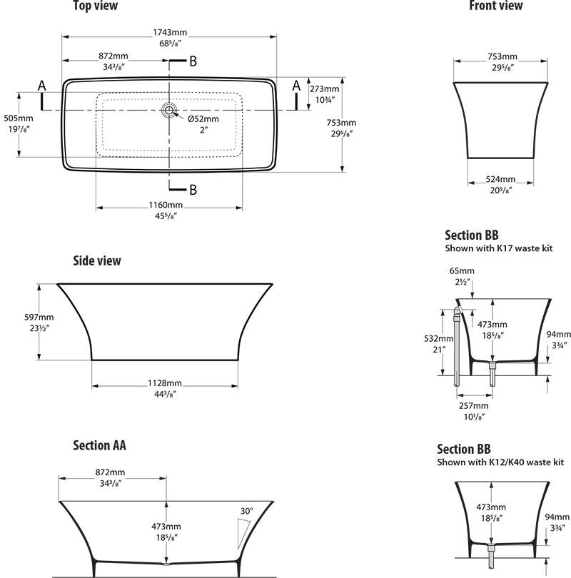 baignoire_design_ravello_de_victoria_albert_schema_technique_des_dimensions