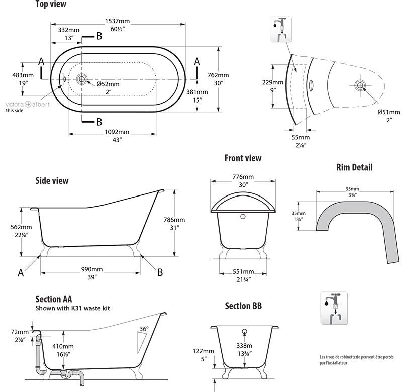 baignoire_design_shropshire_de_victoria_albert_schema_technique_des_dimensions