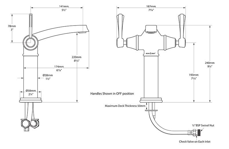robinet_design_retro_florin_11_de_victoria_albert_schema_technique_des_dimensions