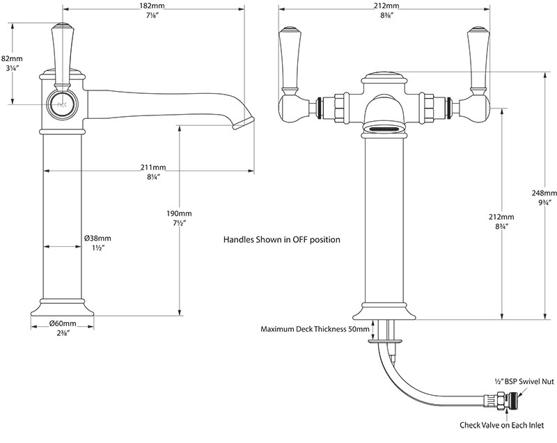 robinet_design_retro_straffordshire_11_de_victoria_albert_schema_technique_des_dimensions