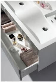 detail meuble salle de bain astree 120 cm