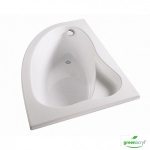 baignoire florida asymetrique version droite 300x300 Comment bien choisir sa baignoire ? Ilot, Droite, Angle, Balnéothérapie... ?